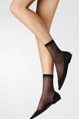 Черные капроновые носки Wolford 2931160090