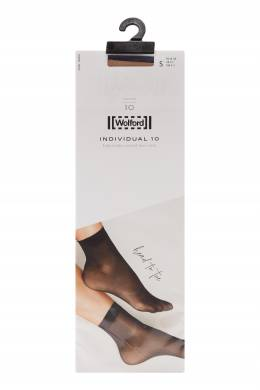 Капроновые носки бежевого цвета Wolford 2931160093