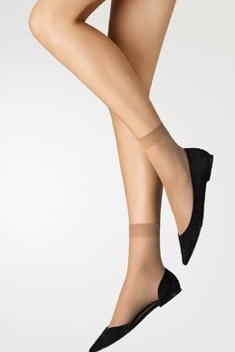 Телесно-бежевые носки Wolford 2931160084