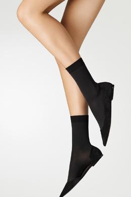 Хлопковые носки черного цвета Wolford 2931160112