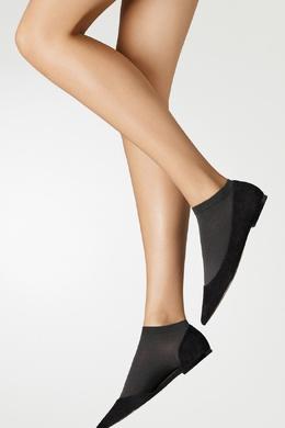 Темно-серые хлопковые носки Wolford 2931160104