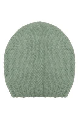 Фисташковая шапка бини Alena Akhmadullina 73159939