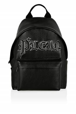 Черный рюкзак из кожи Philipp Plein 1795159549