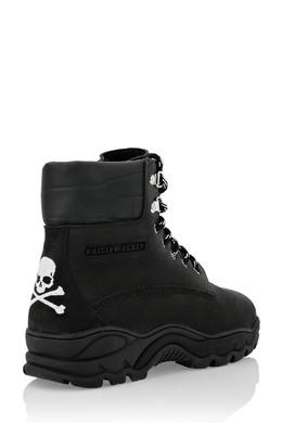 Черные ботинки на шнуровке Philipp Plein 1795159559