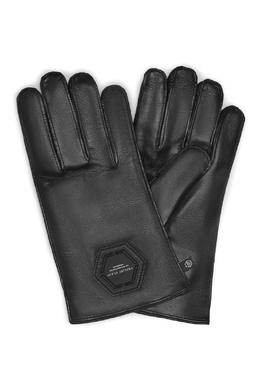 Черные перчатки с символом Philipp Plein 1795159412