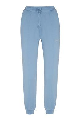 Голубые спортивные брюки с кулиской Acne Studios 876157760