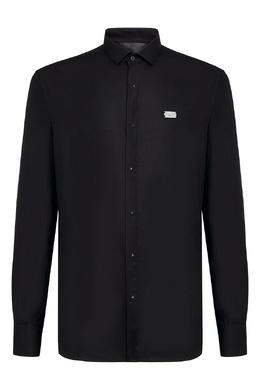 Черная рубашка с длинными рукавами Philipp Plein 1795159828