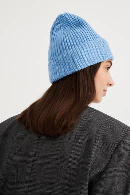 Светло-голубая шапка бини Essentiel Antwerp 754158897
