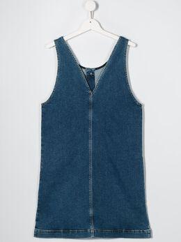 Diesel Kids - джинсовое платье без рукавов 5JMKXB0L955690030000
