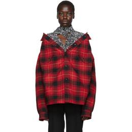 Balenciaga Red Canadian Swing Jacket 192342F10901205GB