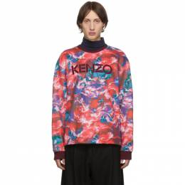 Kenzo Red Kenzo World Sweatshirt 192387M20400506GB