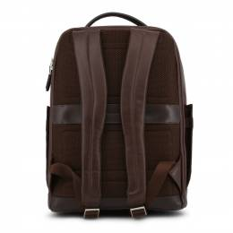 Piquadro Dark Brown Leather Backpack 157845
