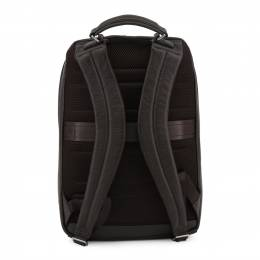 Piquadro Dark Brown Leather Backpack 157854