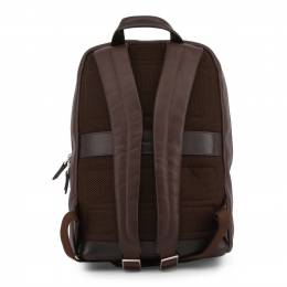 Piquadro Dark Brown Leather Backpack 157848