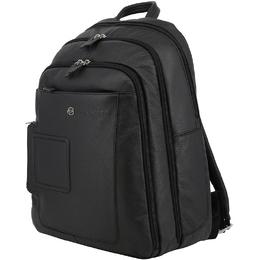 Piquadro Black Leather Backpack 157865