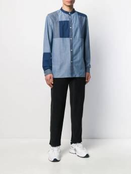 A.P.C. - рубашка Marius с геометричными вставками EKH90599956989580000