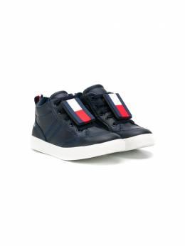 Tommy Hilfiger Junior - высокие кроссовки на шнуровке MY58T9B5365956359866