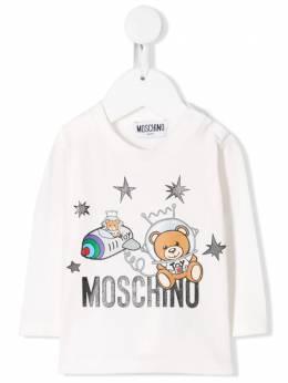 Moschino Kids - толстовка Astronaut Teddy Bear 69VLBA90950863990000