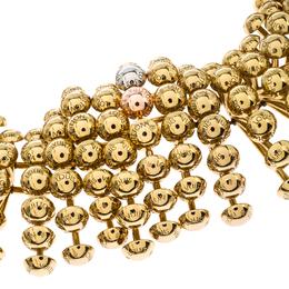 Louis Vuitton Gold Tone Choker Necklace 236215