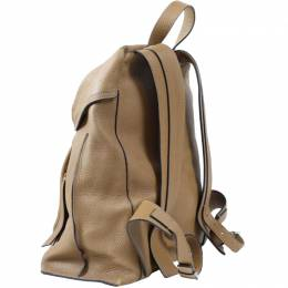 Loewe Brown Leather Backpack 237346