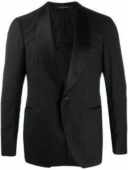 Tagliatore - пиджак с закругленными лацканами 98A63UPA965956966890