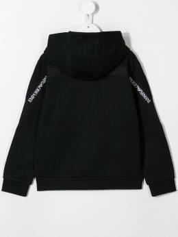Emporio Armani Kids - куртка с капюшоном и логотипом MB85JHNZ956603090000