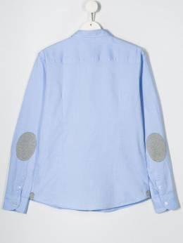 Paolo Pecora Kids - рубашка на пуговицах с нашивкой-логотипом 65095503560000000000