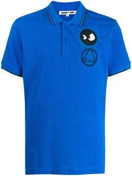 McQ Alexander McQueen - рубашка-поло McQ Monster с логотипом 605RNT59950333660000