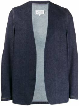 Maison Margiela - джинсовая куртка без воротника BN6388S3653395665369
