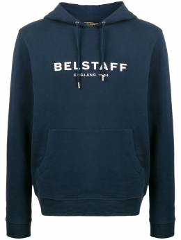 Belstaff худи узкого кроя с логотипом 71130543J61N0133