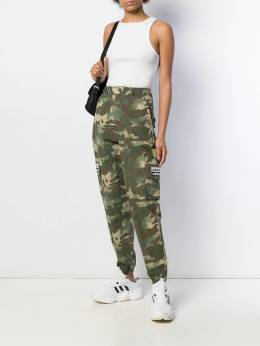 adidas - tapered leg camouflage trousers 55395699693000000000