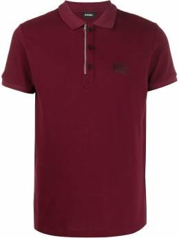 Diesel - рубашка-поло на молнии и пуговицах 65B6MXZA955659600000