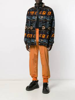McQ Alexander McQueen - вязаная куртка Navajo с логотипом 503RNT05950333960000