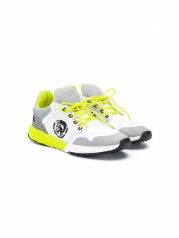 Diesel Kids - кроссовки Mohican в стиле колор-блок 636P9398956959890000