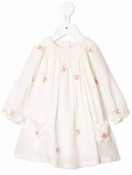 Tartine Et Chocolat - floral embroidered smock dress 69599558535600000000