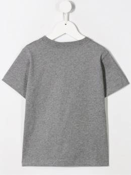 Moncler Kids - футболка с принтом 85568369095585905000