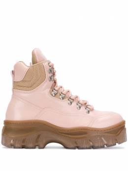 MSGM - ботинки Tractor на шнуровке 0MDS5933989395903900