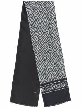 Haider Ackermann шарф Zetland с принтом 1942934433