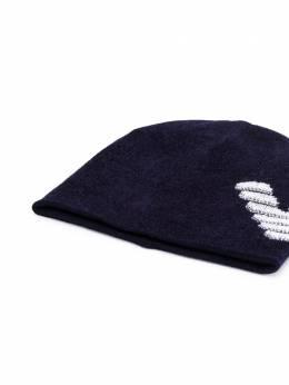 Emporio Armani Kids - шапка-ушанка 3309A566955869500000