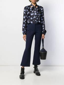 Semicouture - блузка с узором S5595695935000000000
