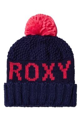 Розово-синяя шапка Tonic Roxy 2750158986