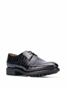 Doucal's - croco-effect derby shoes 033GOMMUF603NN669560