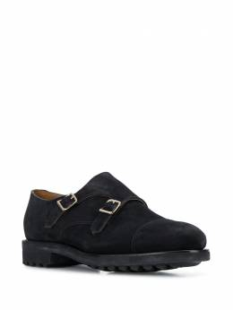 Doucal's - ridged sole monk shoes 083GOMMUF669NB669560
