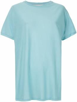 Gloria Coelho футболка в рубчик V20T005
