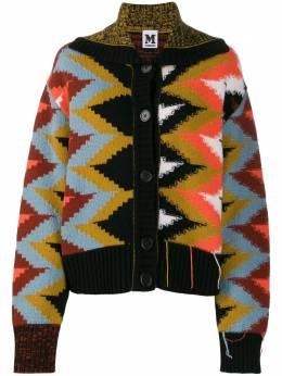 M Missoni - all-over pattern cardigan 666330K660X956938330