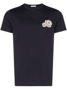 Moncler - футболка с нашивкой-логотипом 05668396Y93985686000