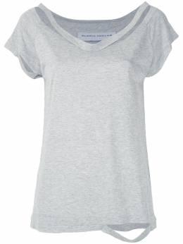 Gloria Coelho блузка в рубчик V20T001