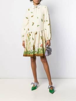Vivetta - forest print dress 6H359596895609809000