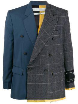 Off-White - пиджак с контрастными вставками F656F99F056638866955