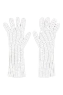Удлиненные белые перчатки с цепочками Fabiana Filippi 2658160487